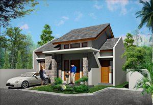 Rumah Kav.UI Timur Tanah Baru Depok