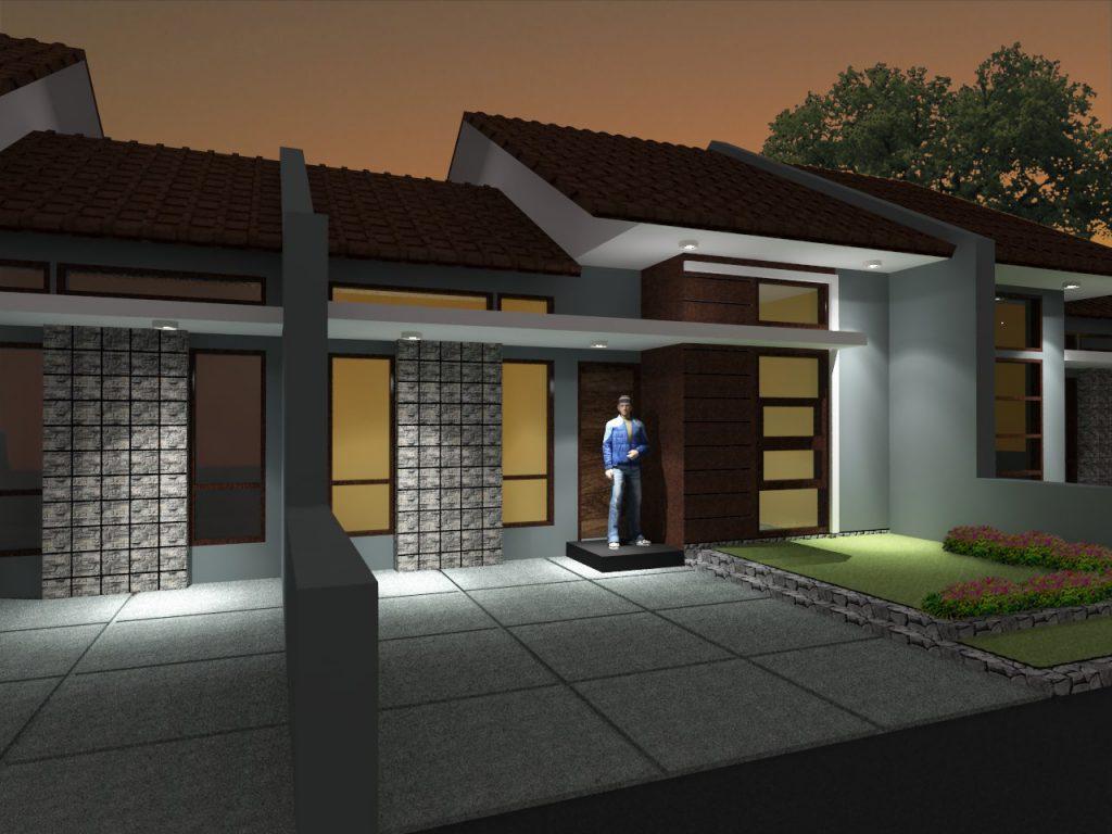 rumah-view maghrib